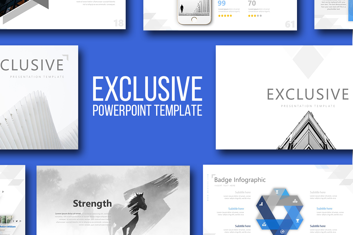 Exclusive Powerpoint Template example image 1