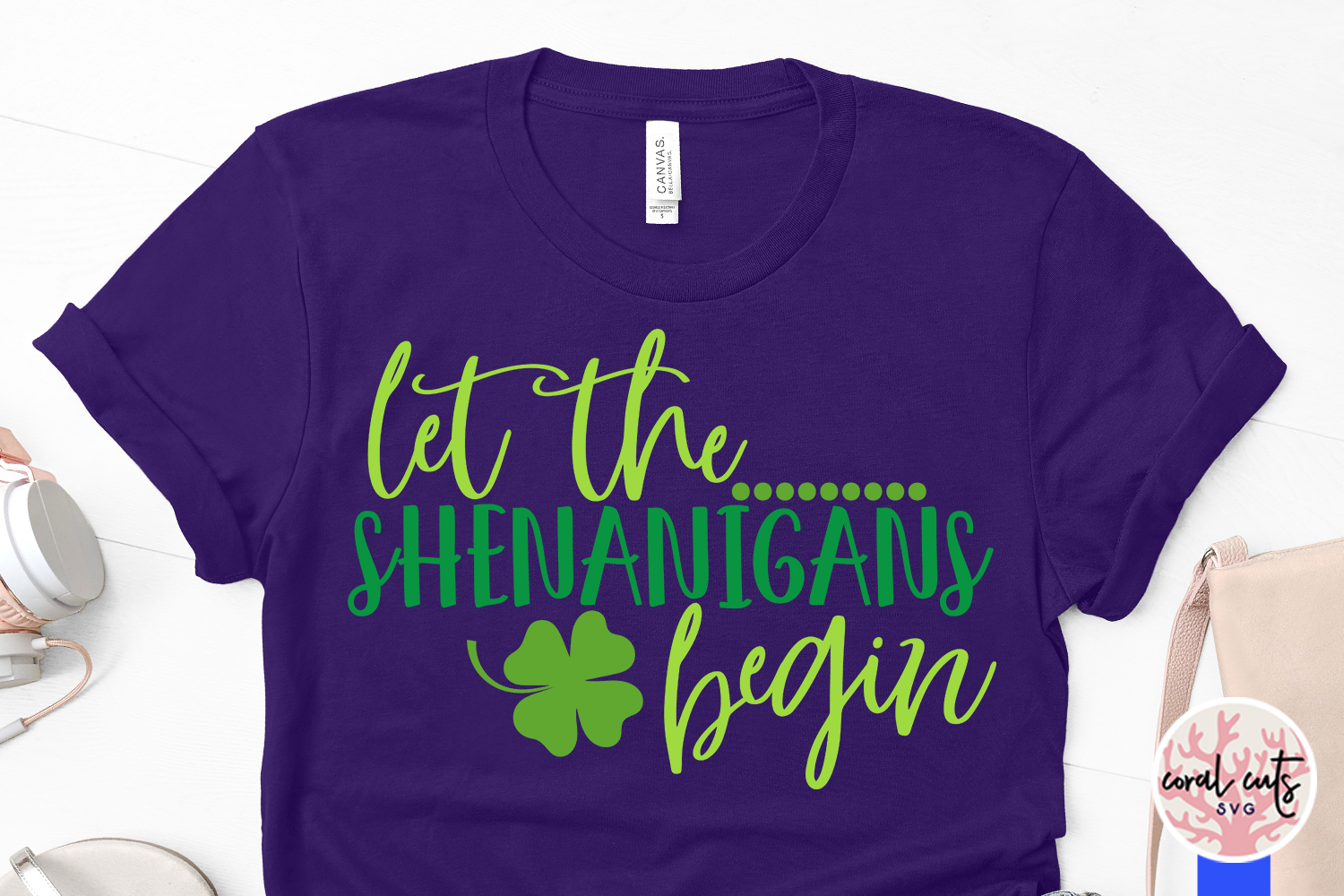 Let the shenanigans begin - St. Patrick's Day SVG EPS DXF example image 3