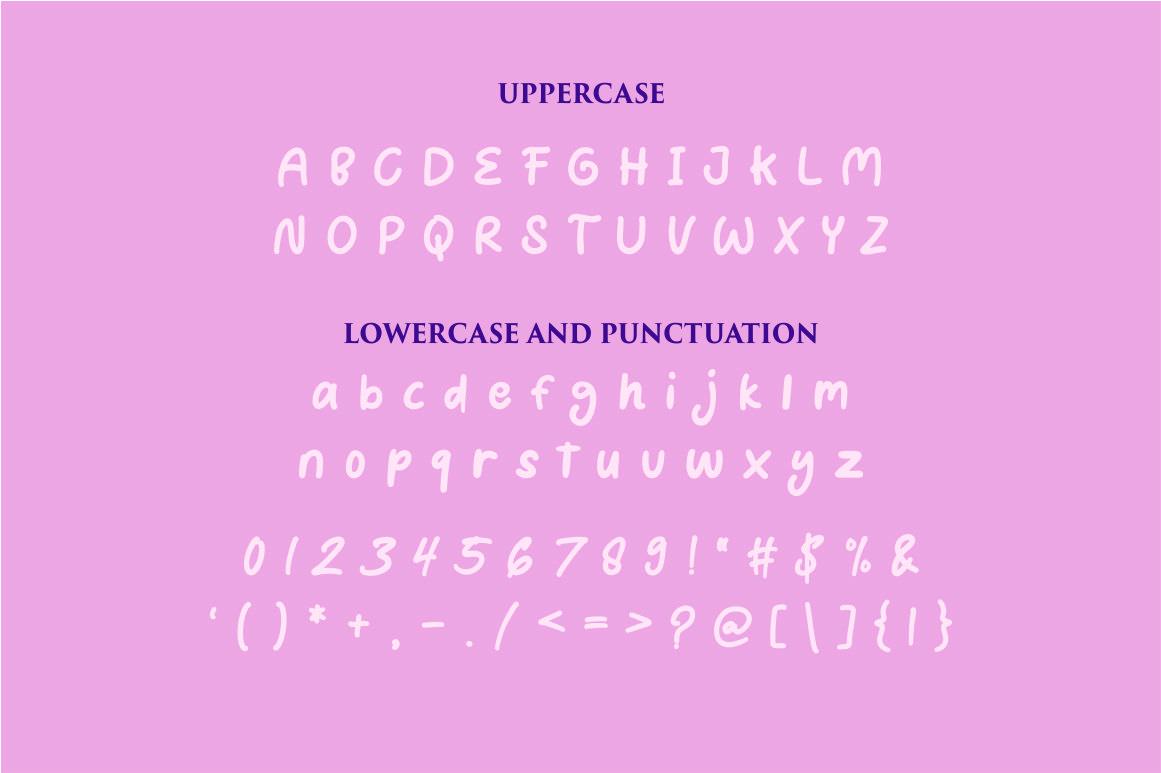 Puncake - funny font example image 6