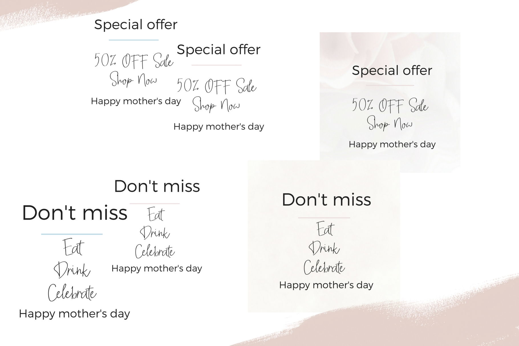 Mother's Day Lettering example image 8