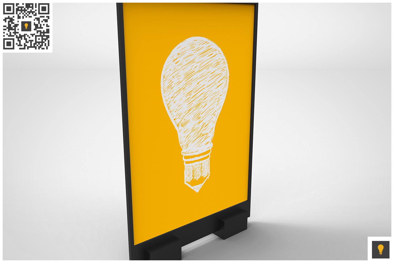 Flyer Display Mockup example image 3