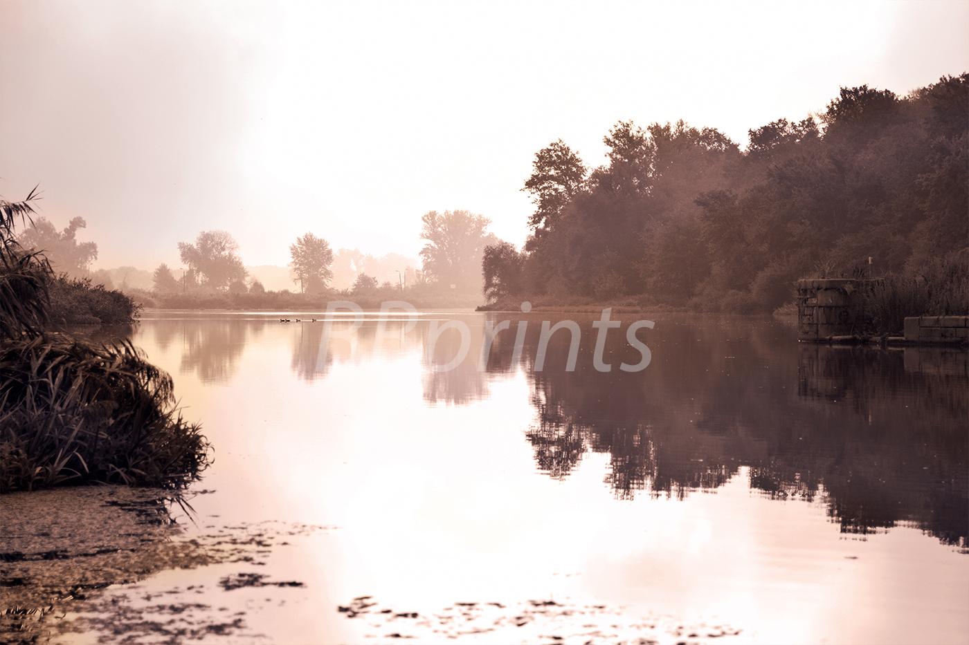 Nature photo, landscape photo, lake photo, example image 1