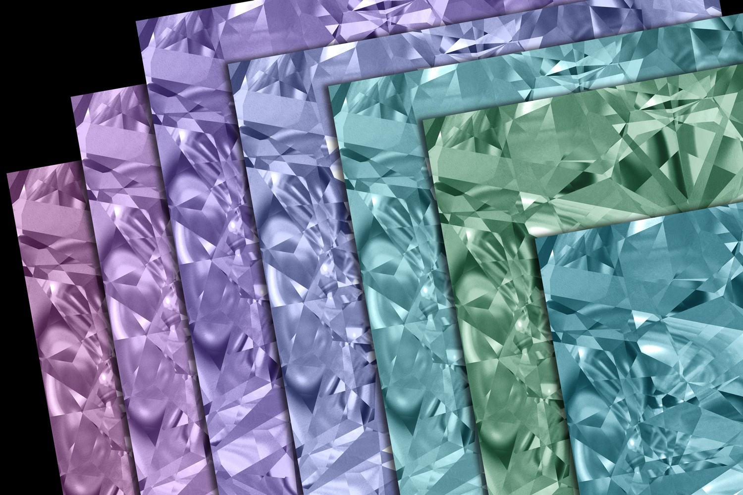 Gemstone Textures Pack 2 example image 3