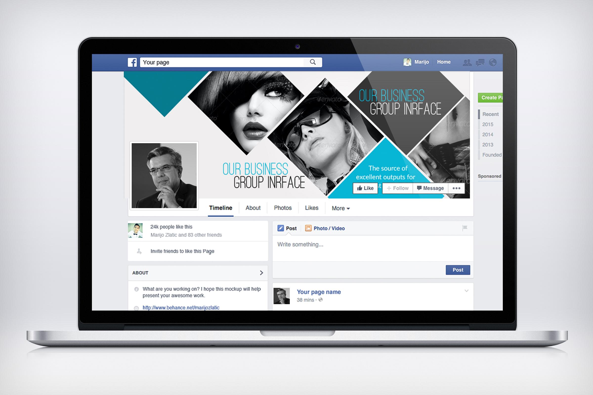 Stylish Facebook Timeline Cover example image 3