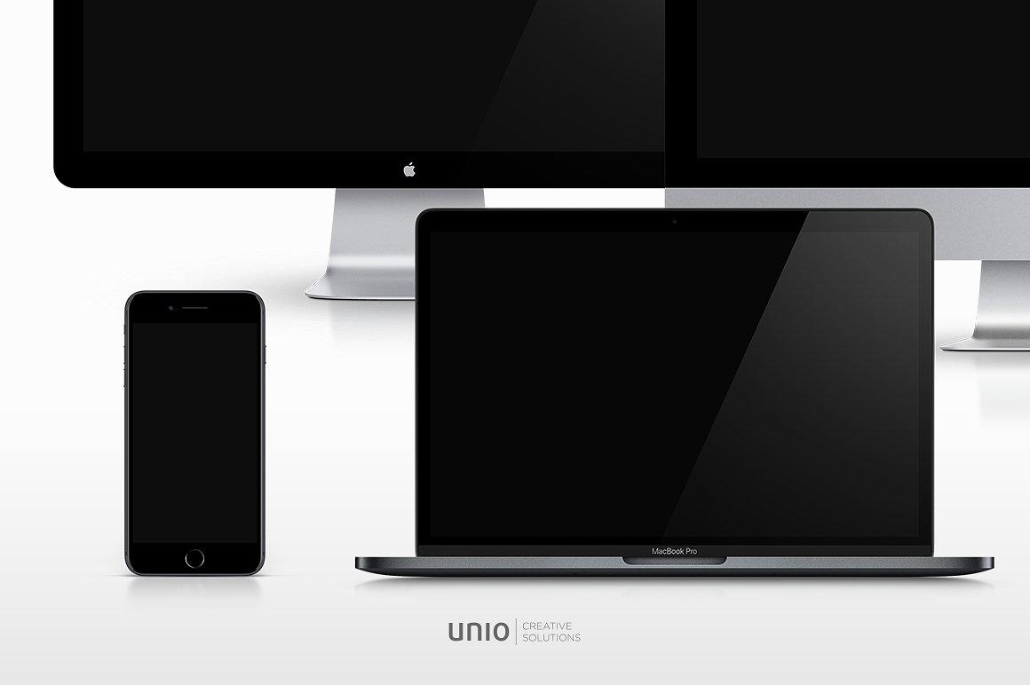 Apple Mockup Devices Bundle example image 2