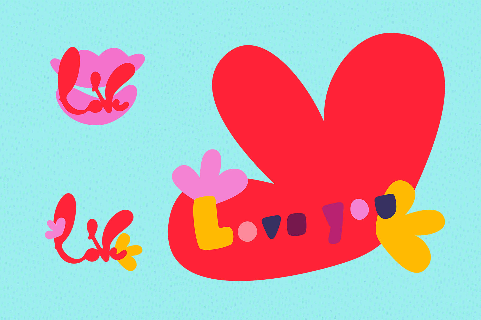 Valentine's Day Vector_part 05 example image 1