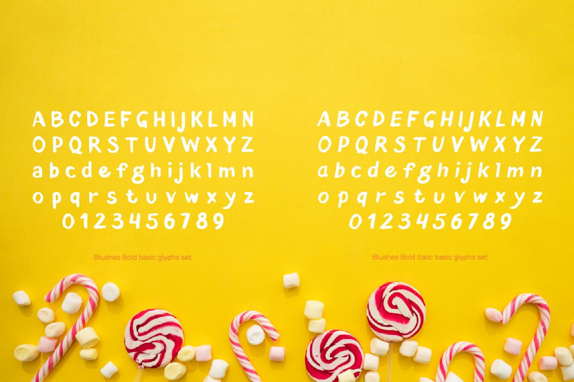 Blushes — Bold & Bold Italic example image 4