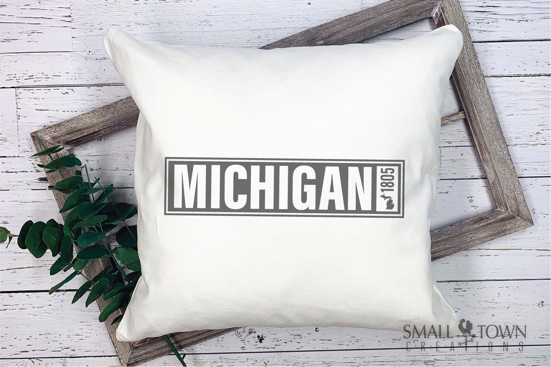 Michigan, Great Lake States - slogan, PRINT, CUT & DESIGN example image 7