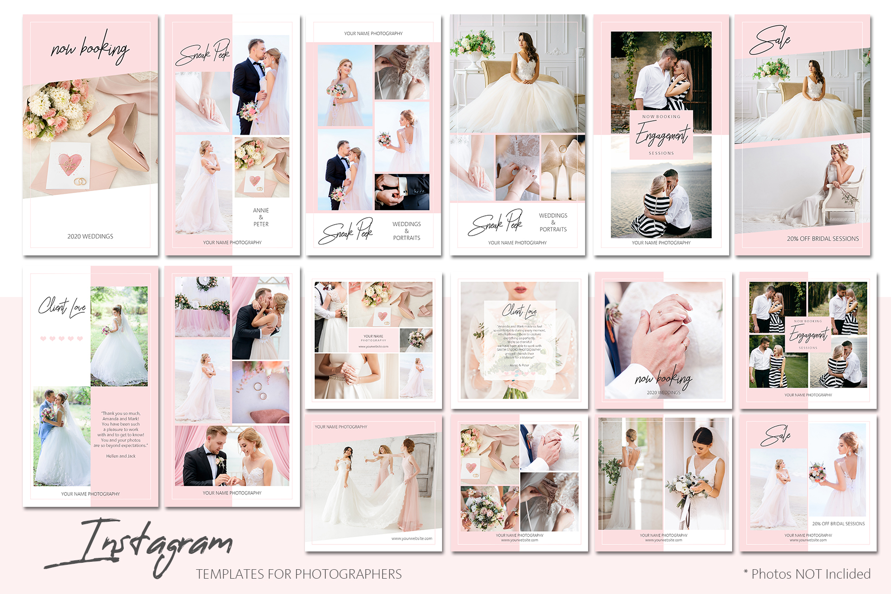 Instagram Templates Bundle for Photographers example image 1