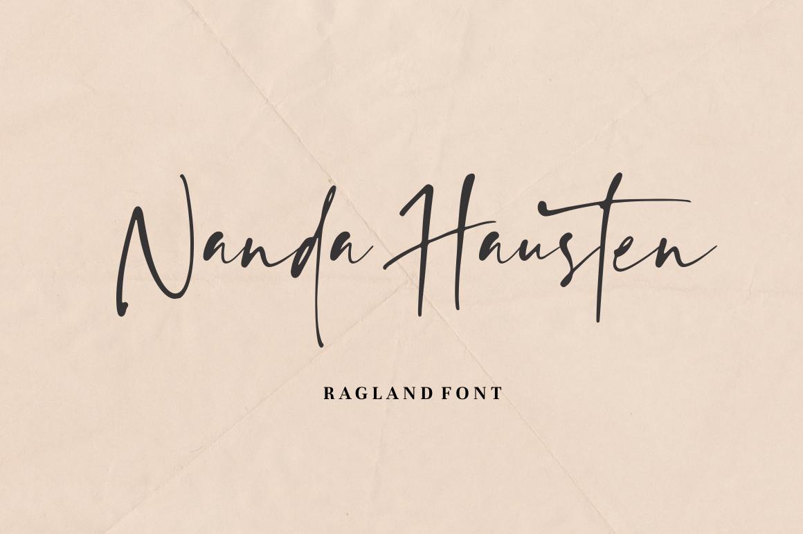 Ragland - Handwritten Font example image 12