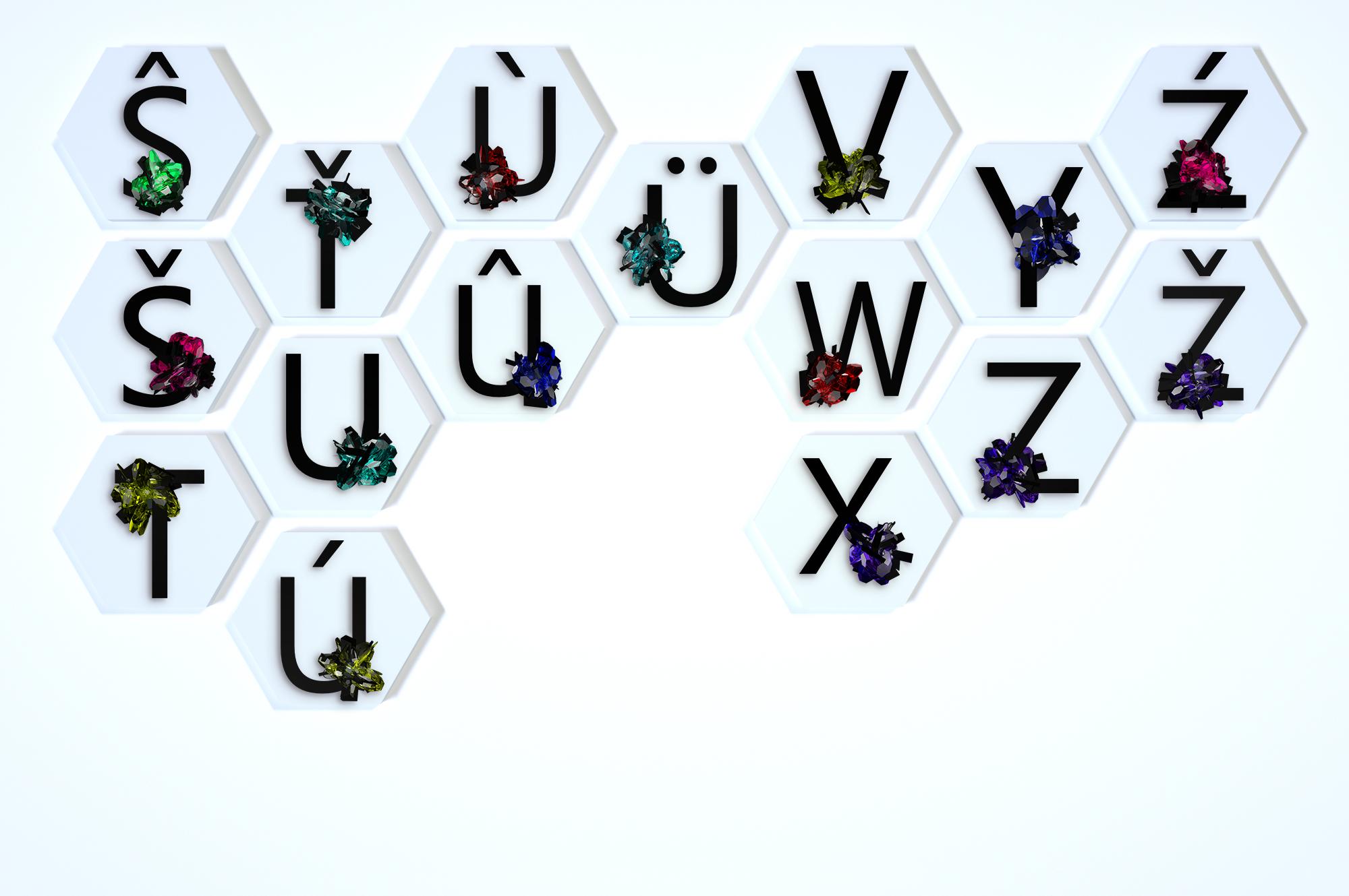 Crystal|Azbuka|Alphabet example image 9