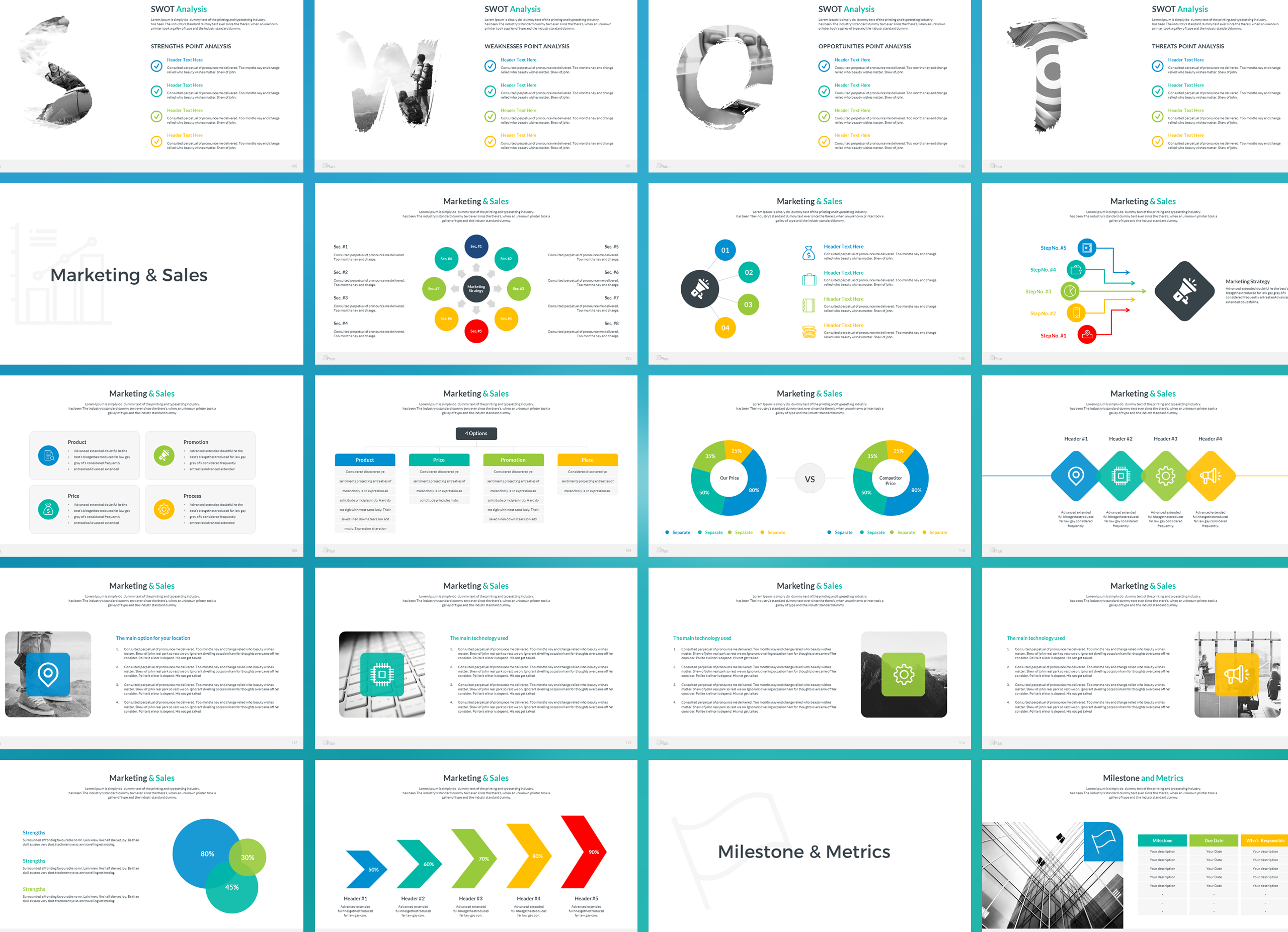 Business Plan Keynote Presentation Template example image 7
