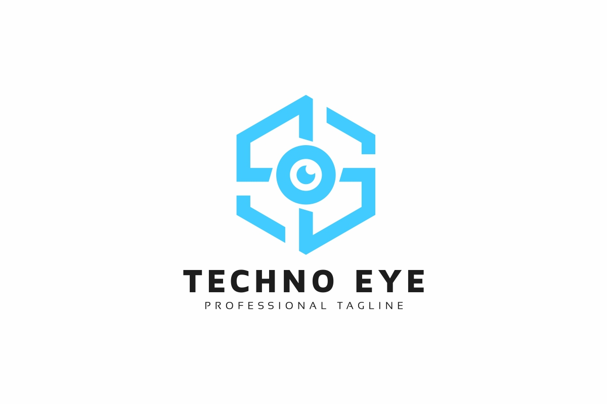 Techno Eye Logo example image 1