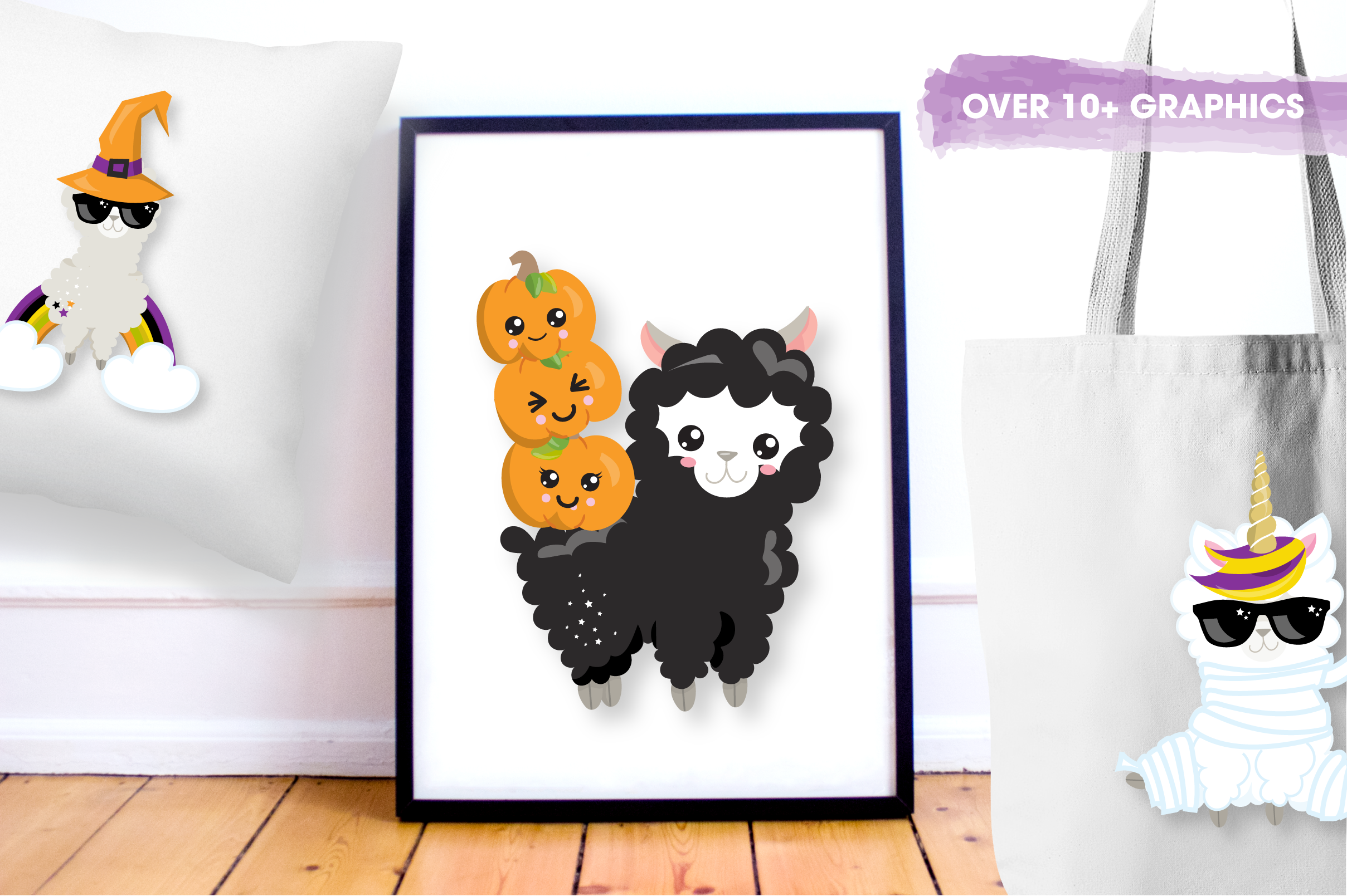 Halloween sheep graphics and illustrations example image 3