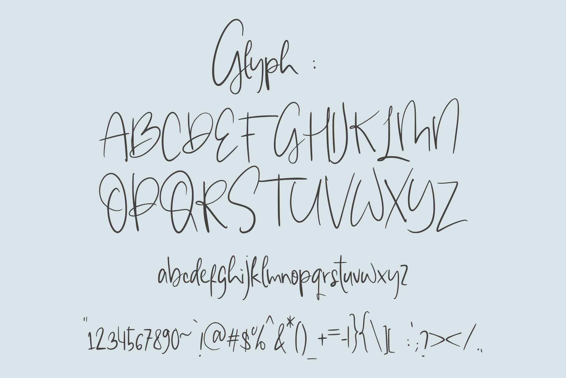 giulietta \\ handwriting example image 4