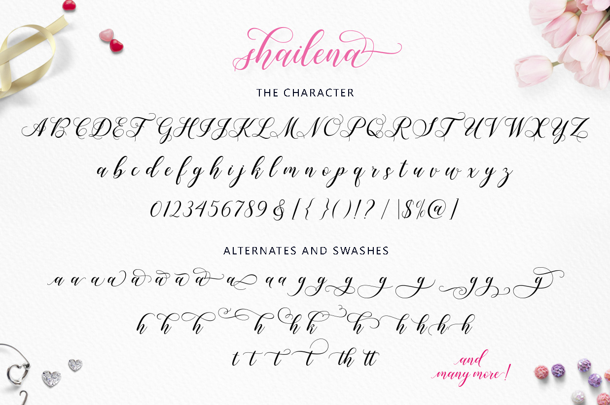 Shailena Script example image 10