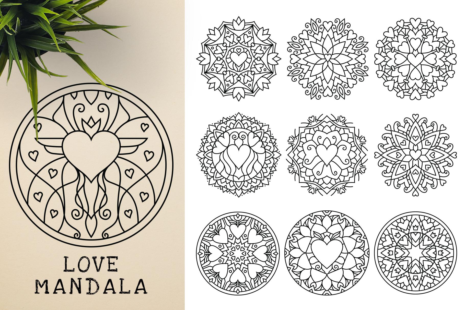 300 Vector Mandala Ornaments example image 25