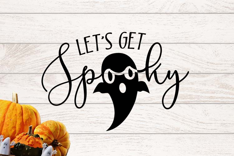 Let's get spooky SVG example image 1