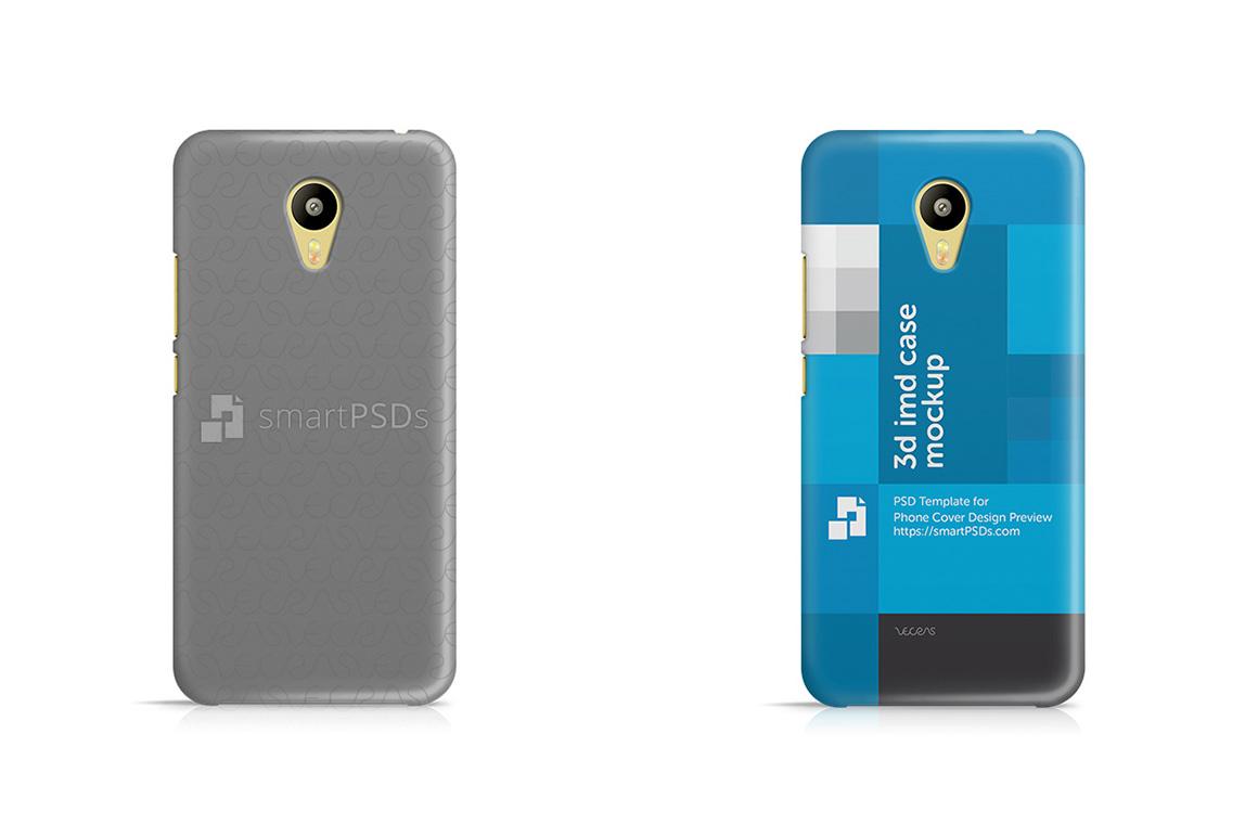 Meizu M3 3d IMD Mobile Case Design Mockup 2016 example image 1