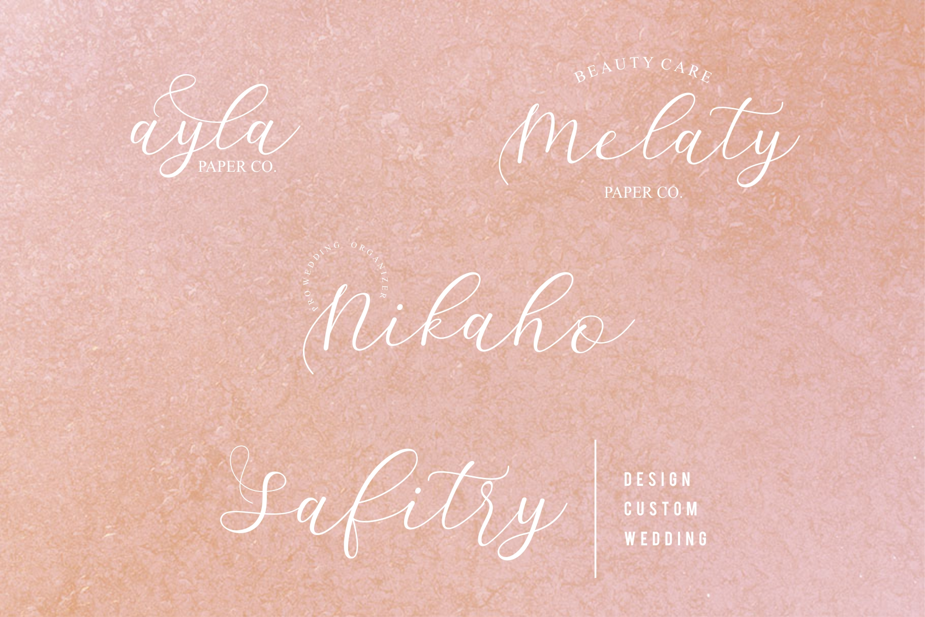 Sathyn Script Font example image 6
