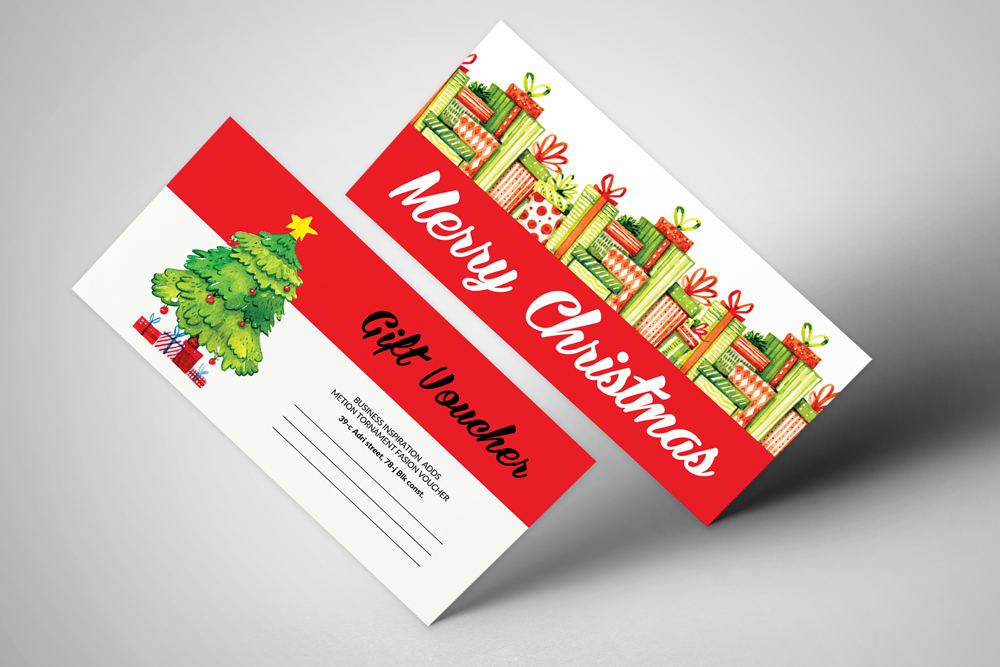 Marry Christmas Gift Voucher example image 1