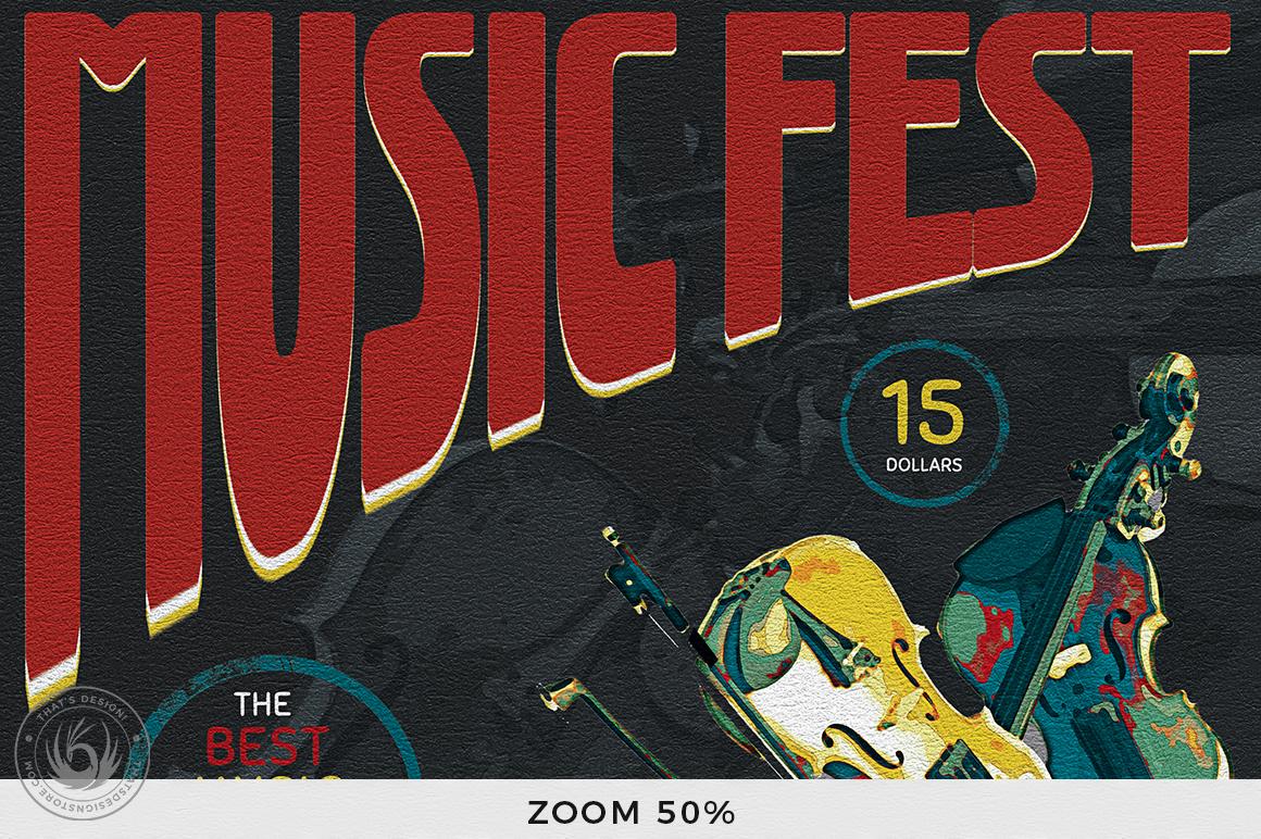 Concert Live Flyer Bundle V5 example image 7