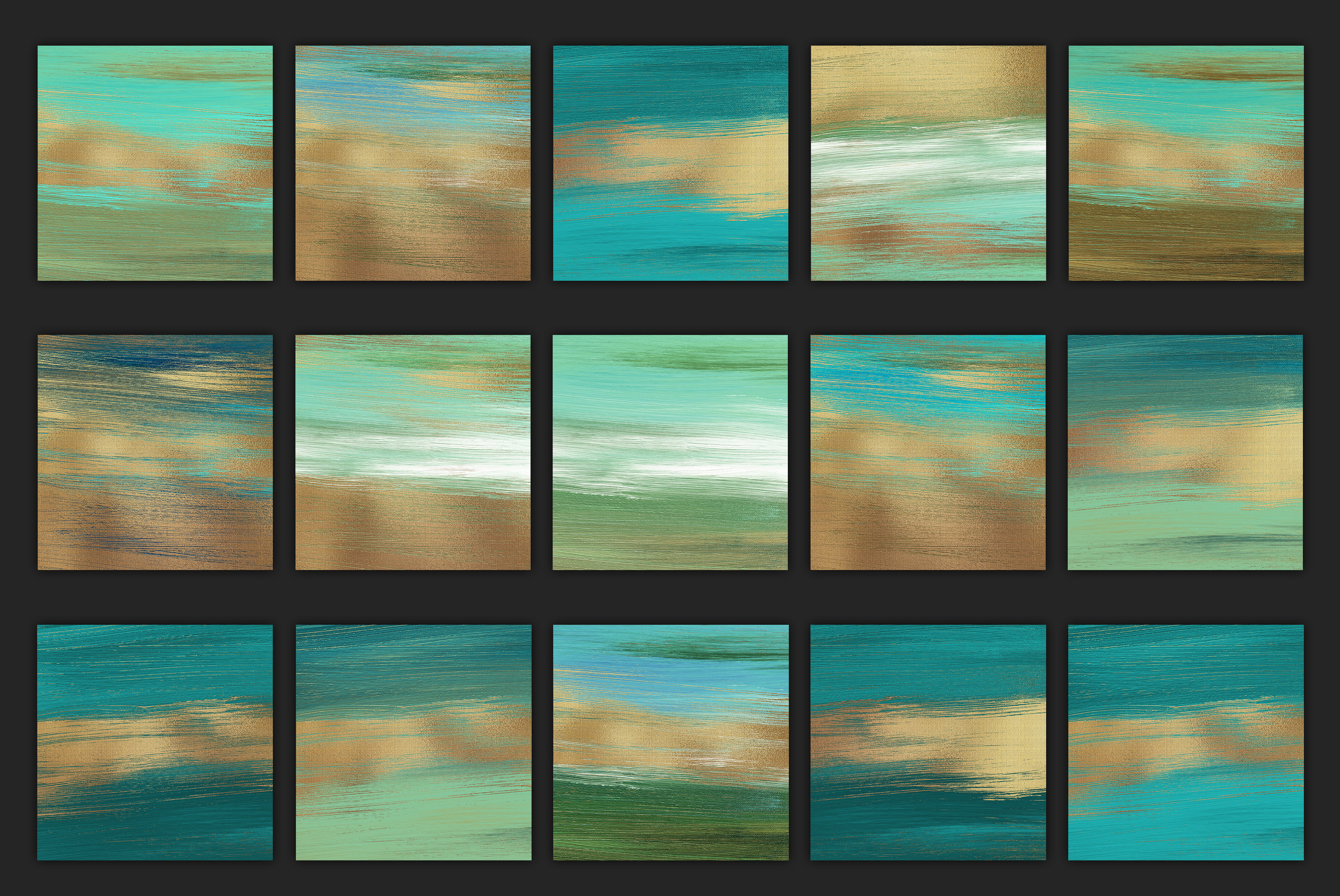 Gold Oil Paint Backgrounds example image 4