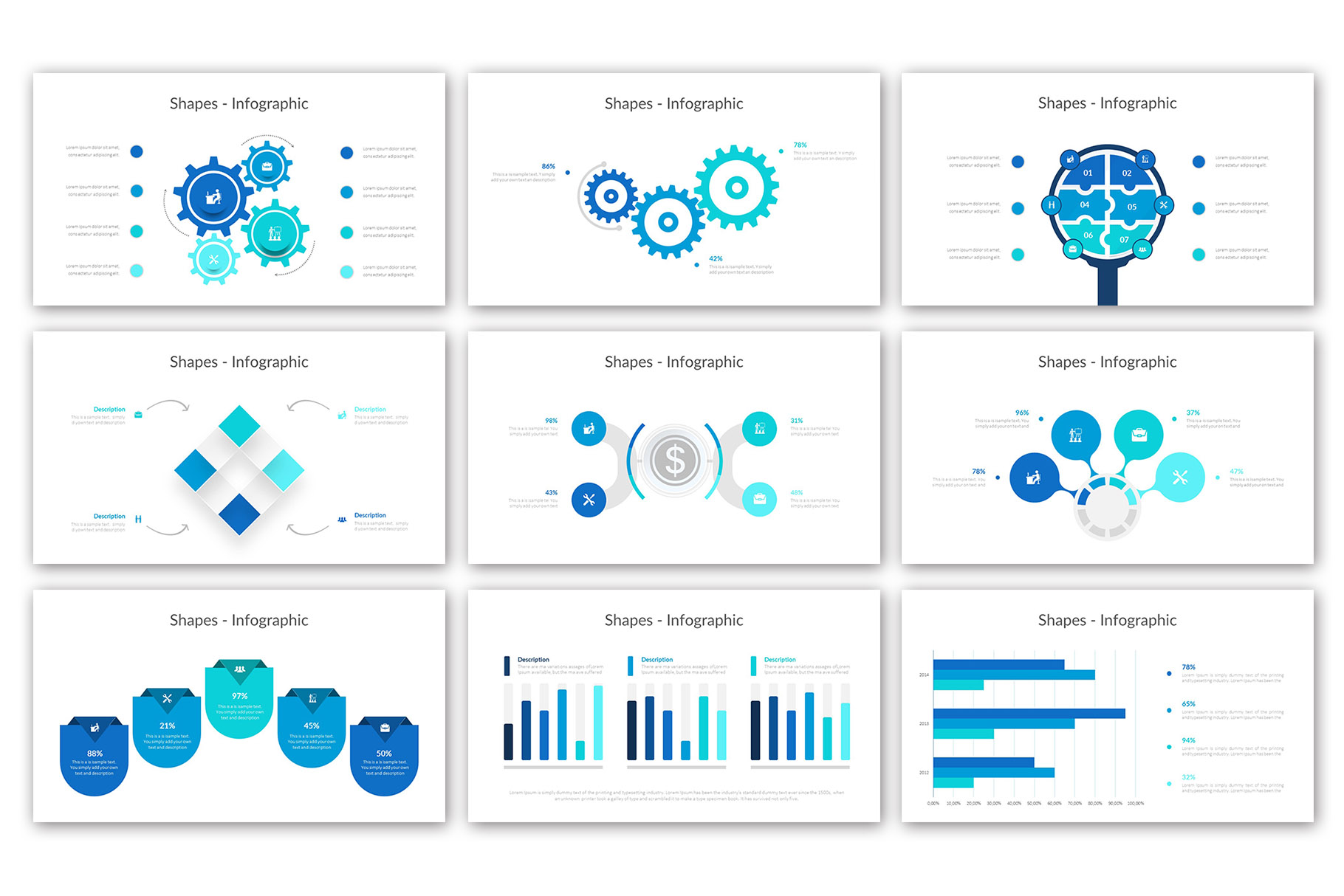 Big Business Presentation Template example image 16