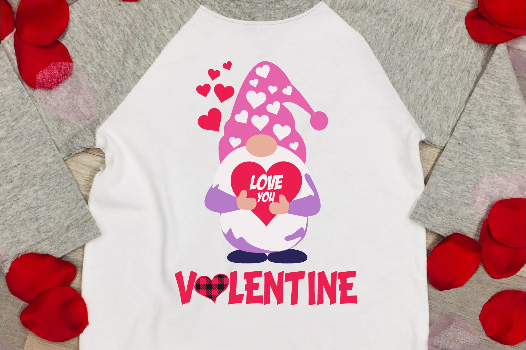 Valentine's Day SVG Valentine Gnome Bundle Gnome Sublimation example image 3