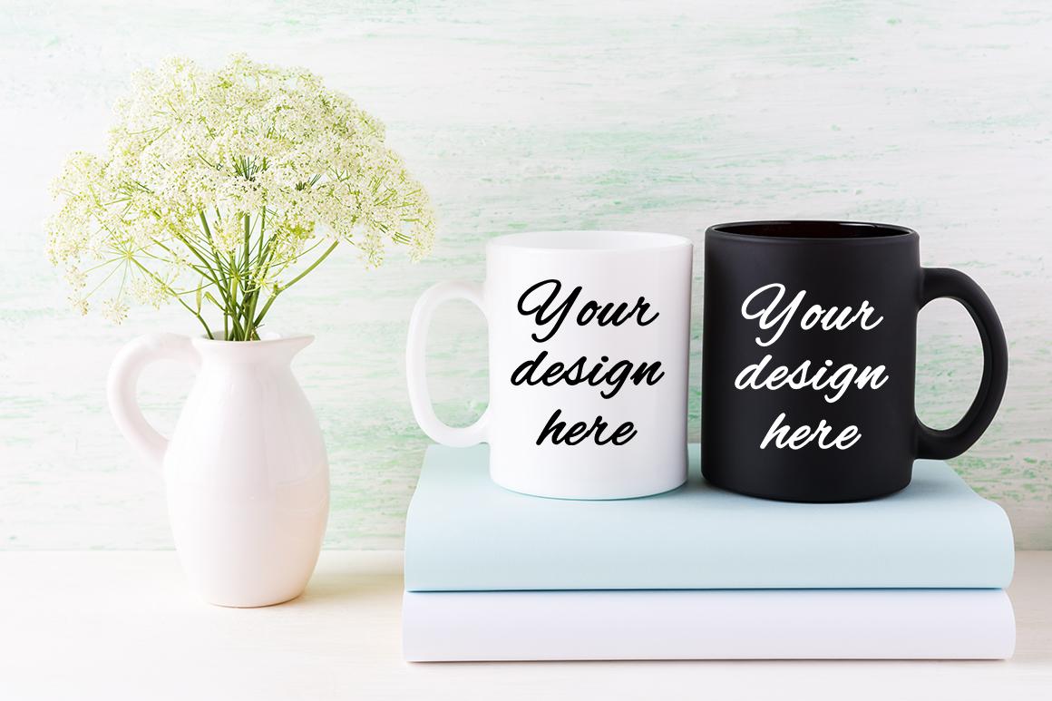 Coffee mug mockup bundle example image 7