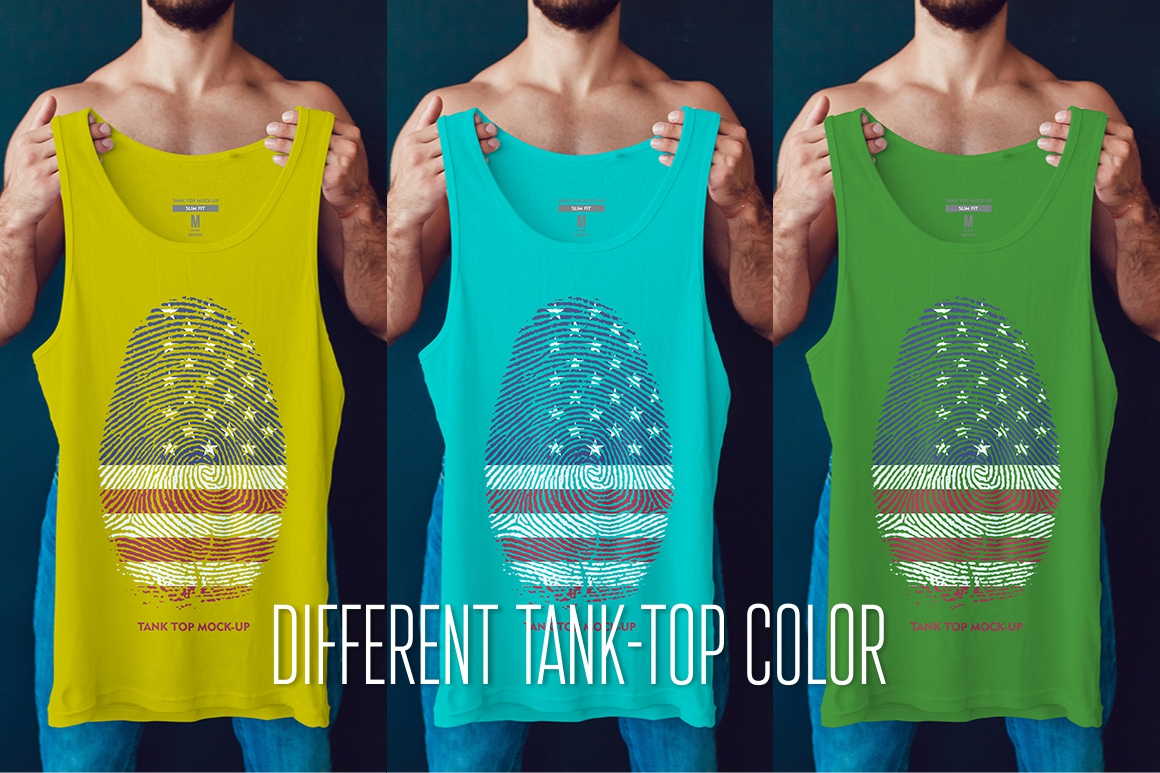 Tank-Top Mock-Up example image 2