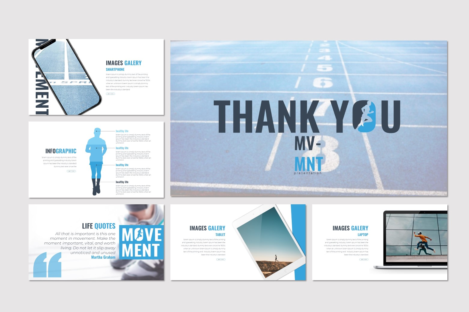 Movement - Keynote Template example image 5