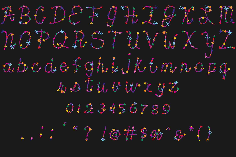 Confetti Font example image 3