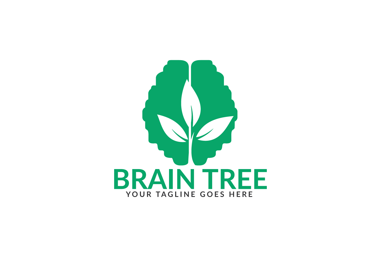 Brain Tree Logo Design. example image 2