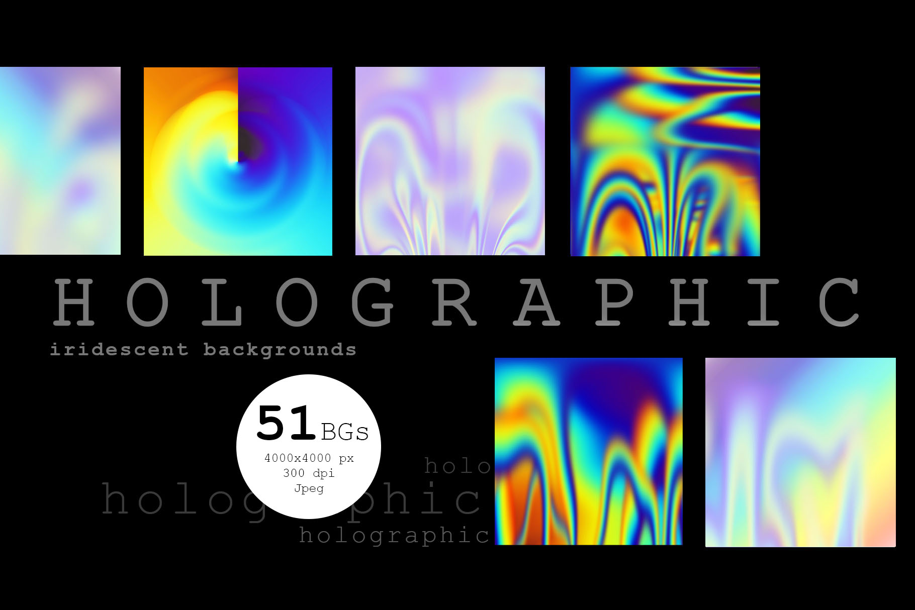Holographic Backgrounds example image 4
