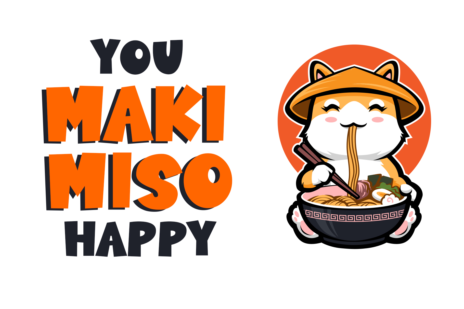 Sushi Moshi - Delicious Display Font example image 4