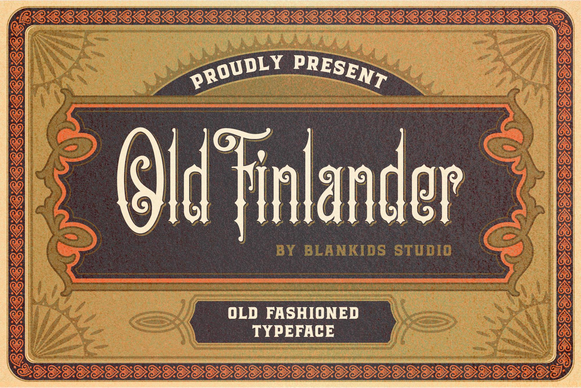 Old Finlander example image 1