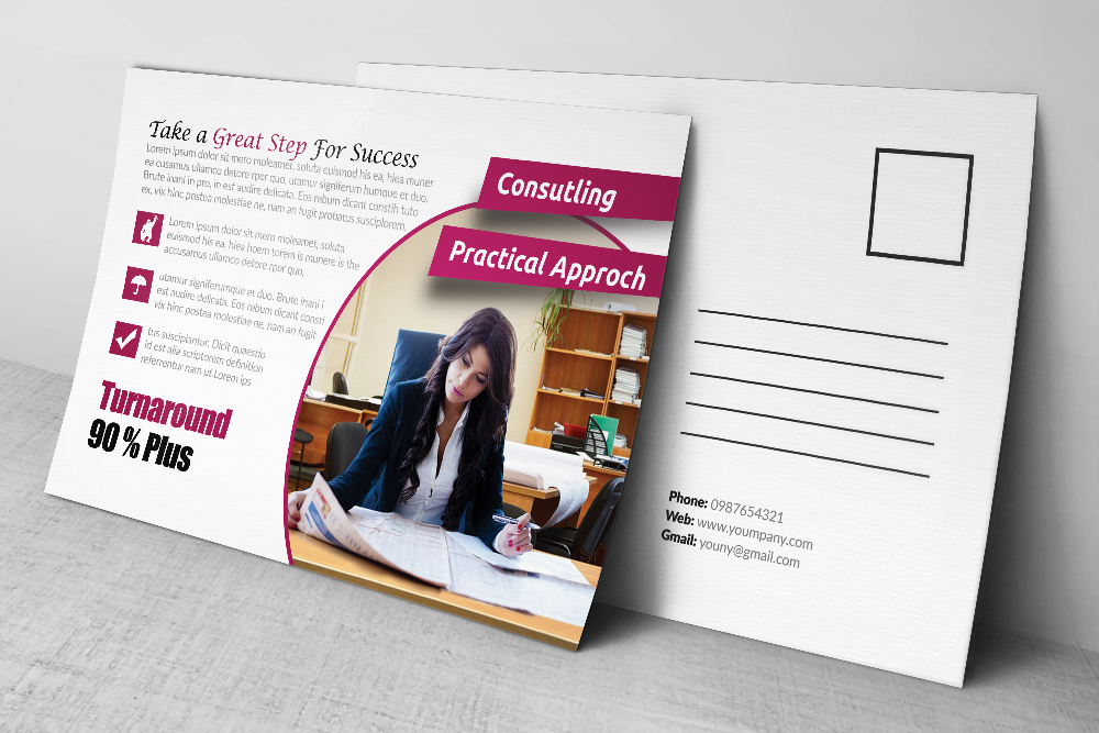 Business Postcards Template example image 3