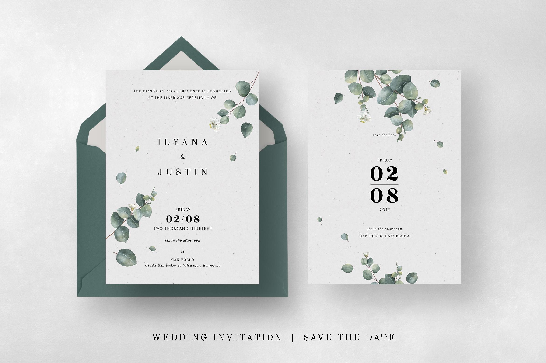 Eucalyptus Foliage Wedding Suite example image 8
