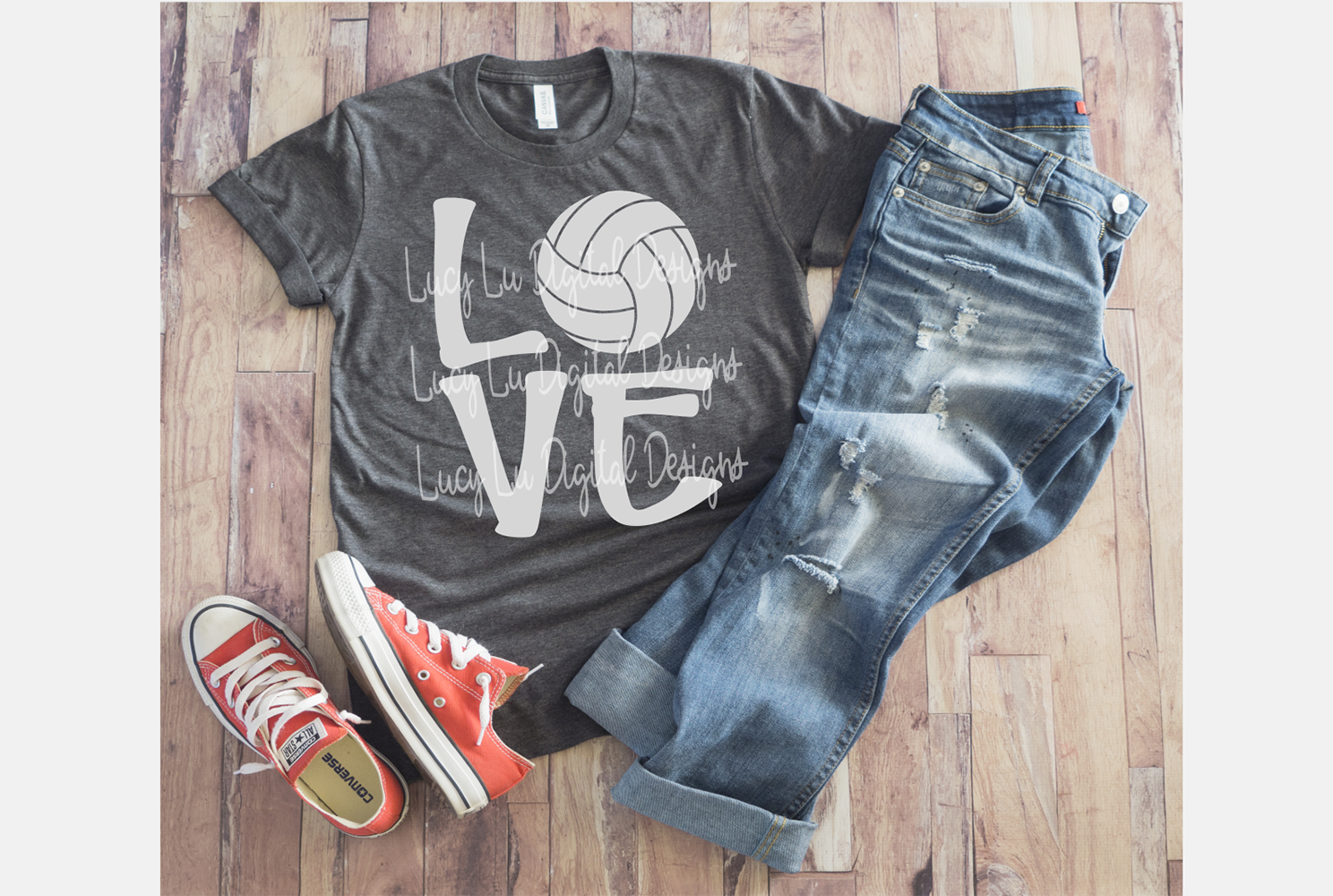 Volleyball Love example image 2