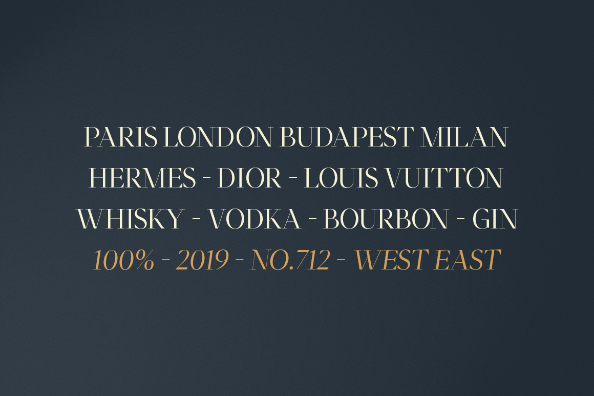 Moriarty Serif Font example image 9