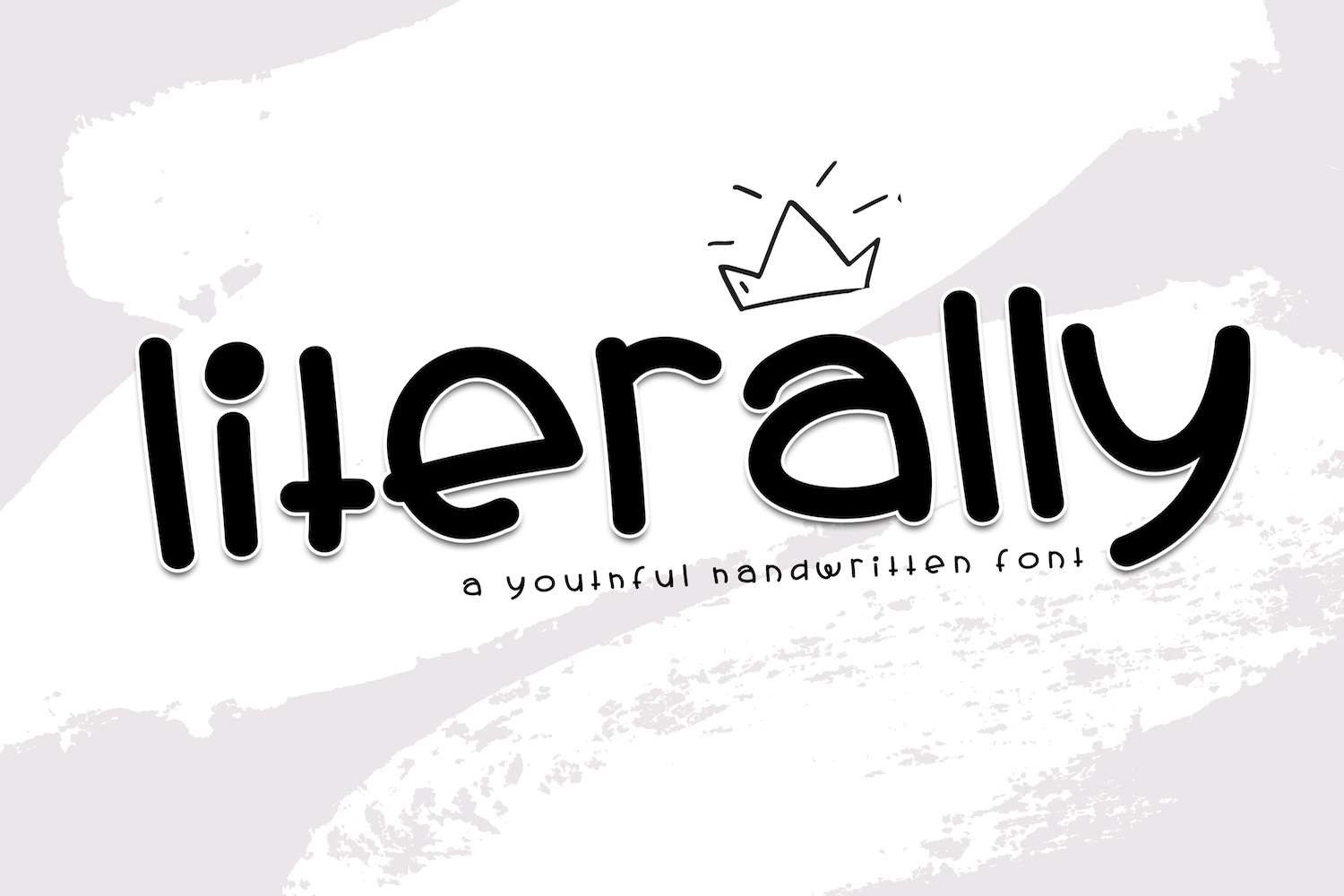 Literally - A Youthful Handwritten Font example image 1