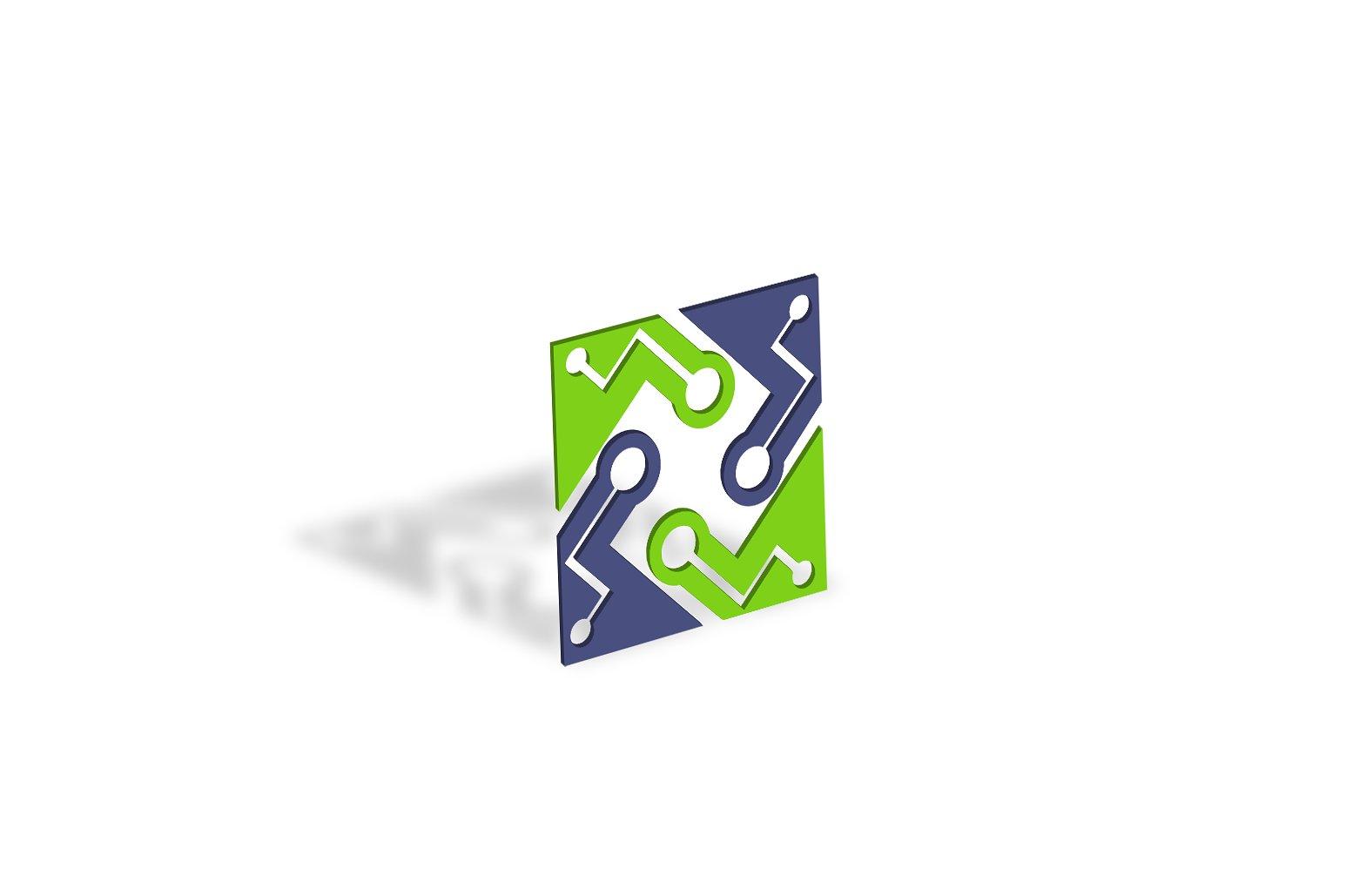 Technology Logo Design Set example image 5