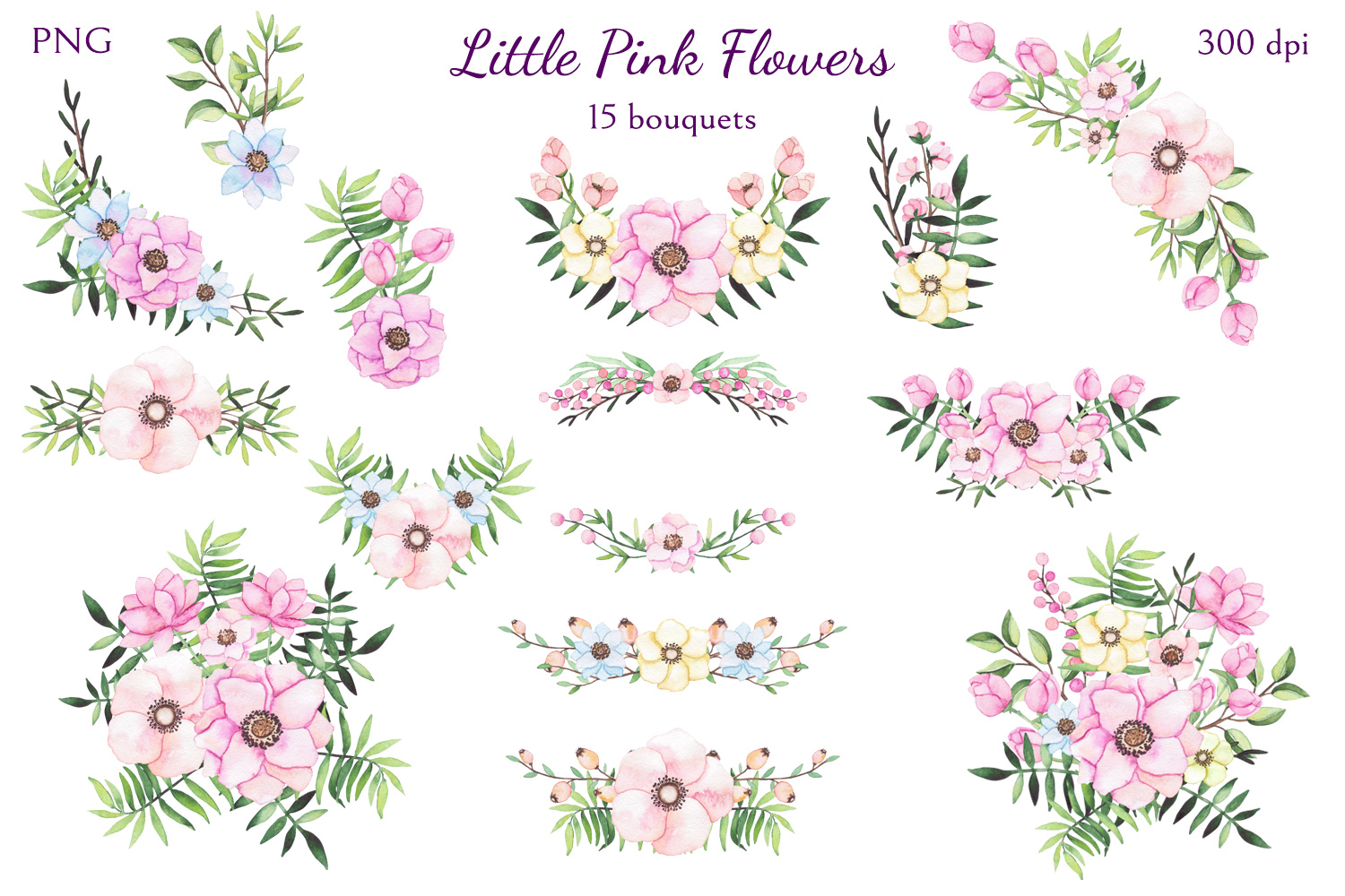 Little Pink Flowers example image 4