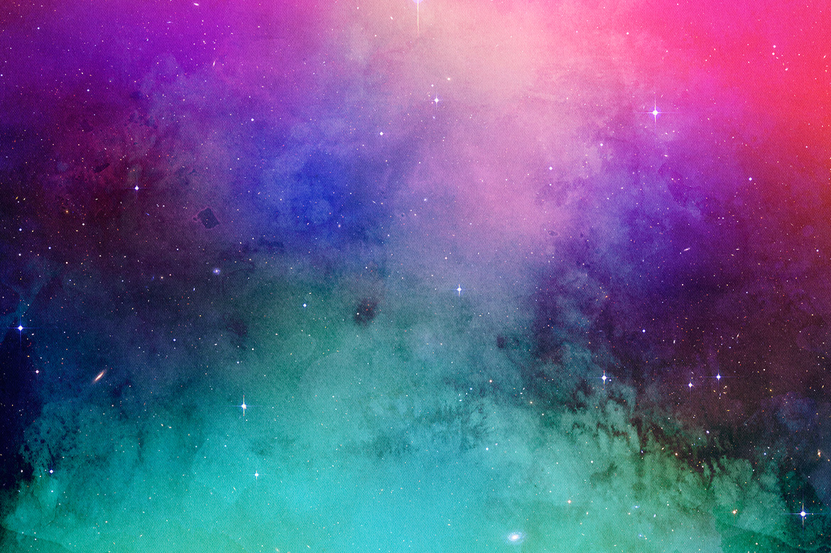 Space Watercolor Backgrounds example image 6