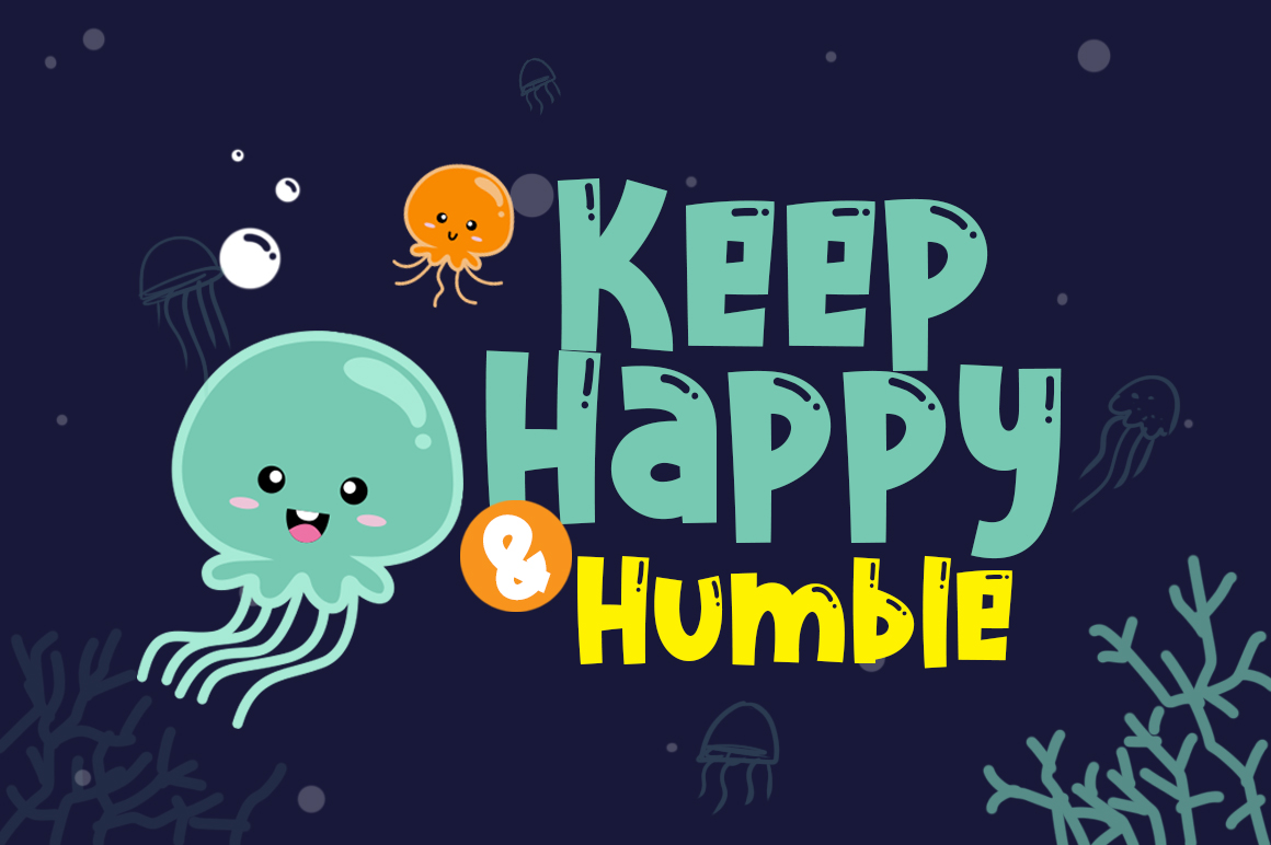 Cute Jellyfish example image 4