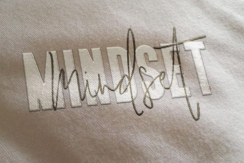 Mindset Font Duo example image 7