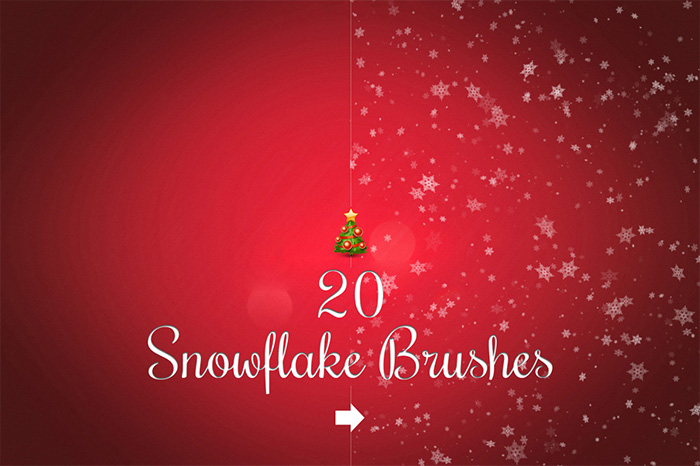Snowflake Brushes example image 1