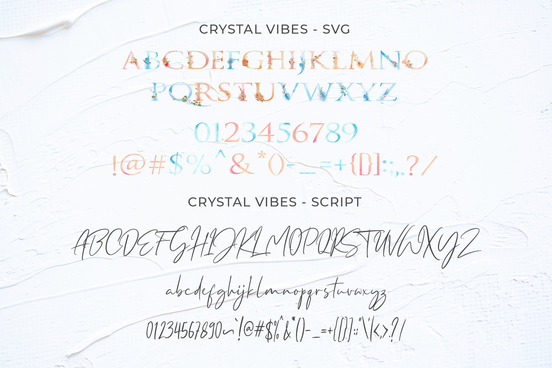 Crystal Vibes - SVG & Regular example image 8