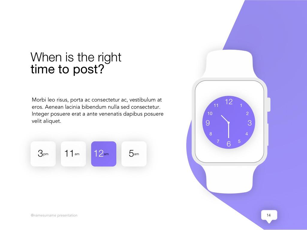 Influencer Marketing Google Slides Template example image 15